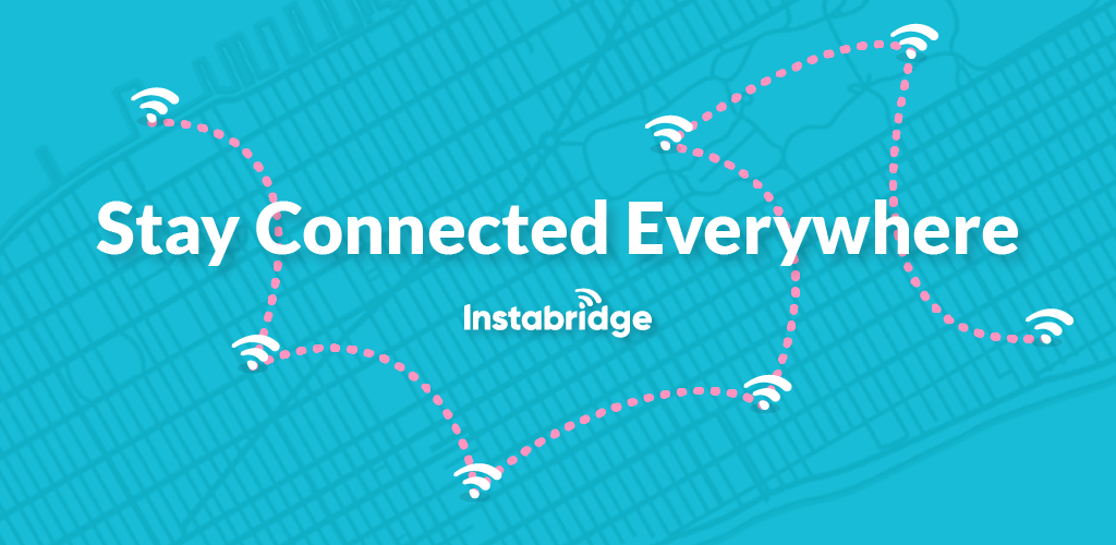 Free WiFi Password - Instabridge App